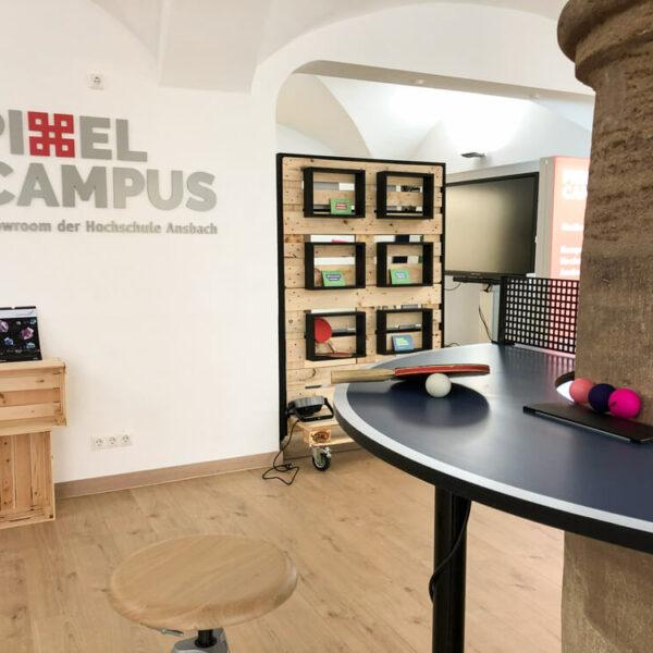 Tischtennis im Pixel Campus